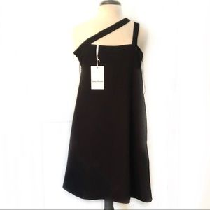 Amanda Uprichard Asymmetrical Mini Cocktail Dress